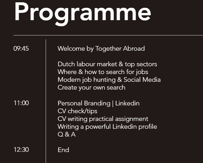 GET READY& BE HIRED! How to find a job in NL with Personal Branding ...